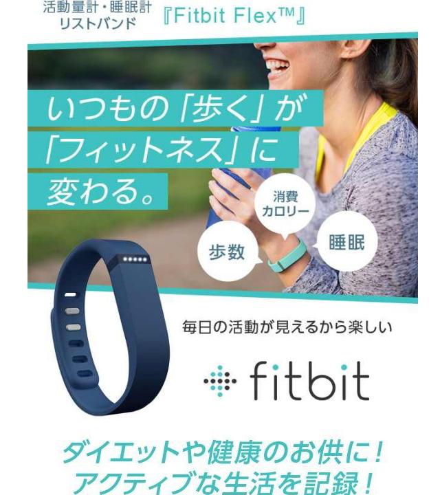 「Fitbit Flex」活用マニュアル