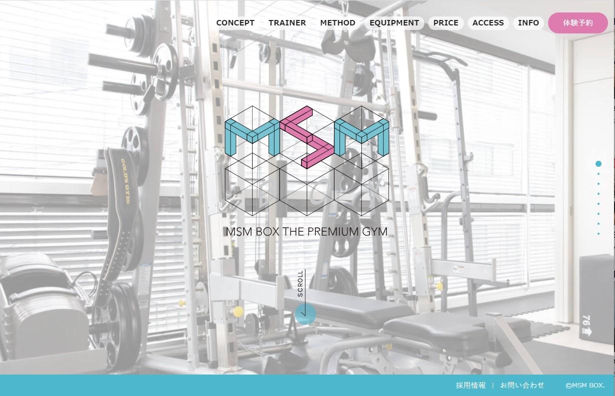 MSM BOX – 大人のためのプレミアムジムが完成